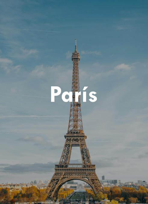 No hay mejor forma que despertarse de la cama del hotel viendo la increíble e imponente Torre Eiffel.